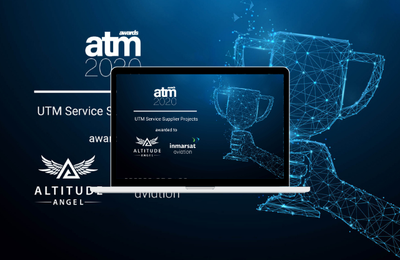 Altitude Angel and Inmarsat's ground-breaking pop-up UTM wins 2020 ATM Award