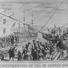 BOSTON TEA PARTY. CORREVA L'ANNO 1773.....!