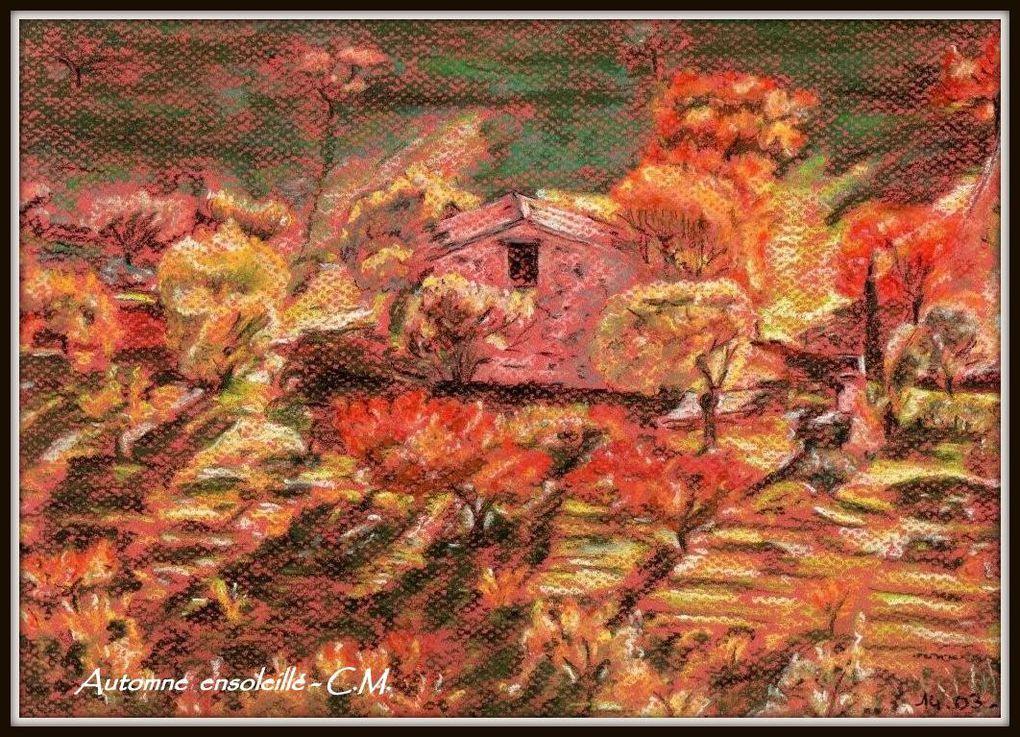 Les dessins explosent  en vie et en couleurs. Ils sont  crayonnés  en 20 minutes au pastel sec, à la pierre noire ou à la sanguine. L'alchimie de l'art opère: c'est  à bas bruit ou éclaboussure, un instant de vie  que l'auteur saisit.