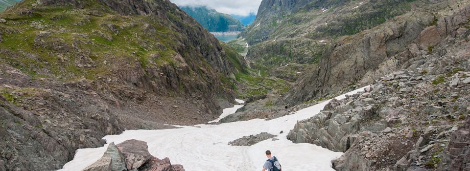 Chamonix : Le col de la terrasse par le refuge de Loriaz