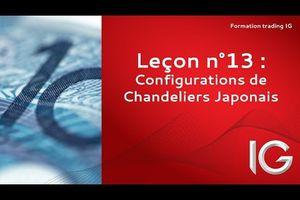 Apprendre la bourse: configurations de chandeliers japonais