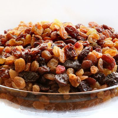 Les raisins secs et leurs vertus