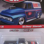 83 CHEVY SILVERADO HOT WHEELS 1/64 - CHEVROLET SILVERADO 1983 PICK-UP - car-collector.net