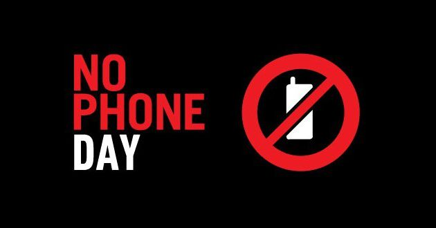Une journée sans téléphone !