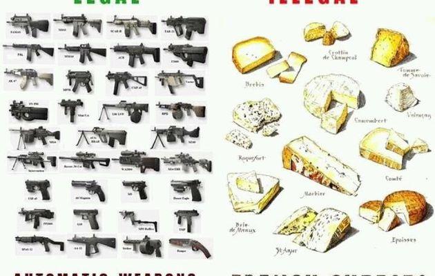 LES AMERICAINS ET LES ARMES / ACTUALITE / LEGENDE