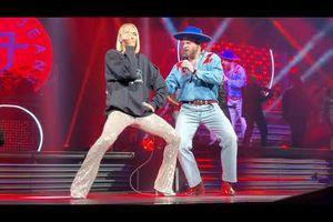 Bleu Jeans Bleu et Céline Dion/ Coton ouaté
