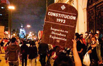 Pérou : Constituante et nouvelle constitution, les règles du jeu