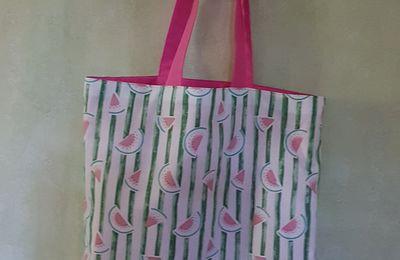 Un TOTE BAG avec des pastèques !