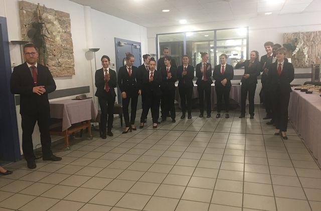 CFA COMMERCE ET SERVICES DE BLAGNAC - INTRONISATION DES APPRENTIS AU RANG DE SOMMELIERS