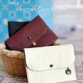 Leather Coin Purse - Free Tutorial | Craft Passion - Page 2 of 2