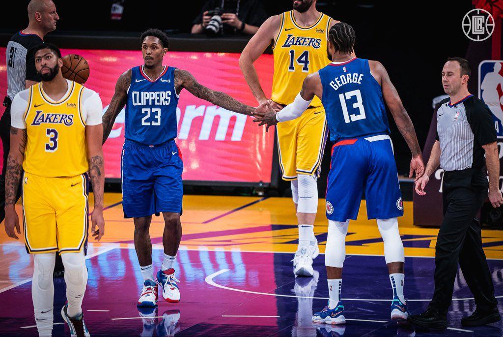 Paul George fait très mal aux Lakers dans le derby de Los Angeles