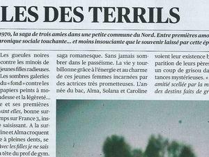 Ci-dessus, ce qu'en a écrit Isabelle Poitte dans Télérama, édition du 22 avril 2015