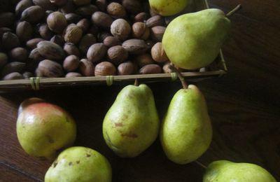 Confiture de poires williams aux noix caramélisées