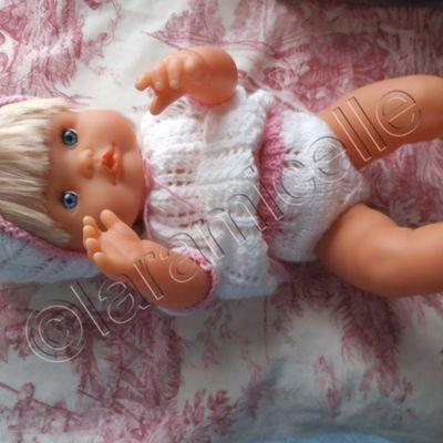tuto gratuit poupée : petite culotte ajourée et chaussons
