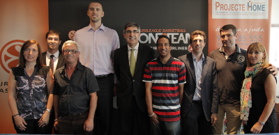 Euroleague Basketball opens One Team collaboration with Projecte Home Catalunya