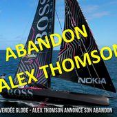 Vendée Globe 2020 - abandon d'Alex Thomson sur Hugo Boss - ActuNautique.com