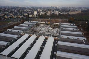 Les dessus du Parc des Expositions de Caen