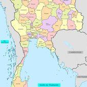 2 / == PROVINCES de Thaïlande - Noy et Gilbert en Thaïlande
