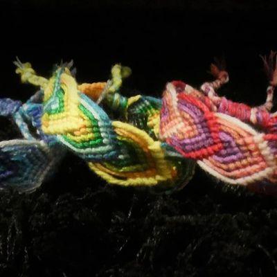 Bracelets brésiliens motif feuille...