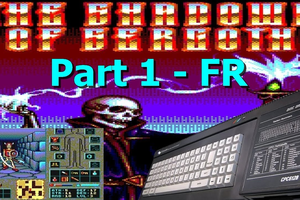 Live / Let's Play Amstrad CPC - The Shadows Of Sergoth (Dungeon Master like)