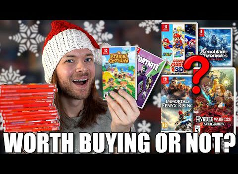 Nintendo Switch Games Holiday Buying Guide & What To AVOID