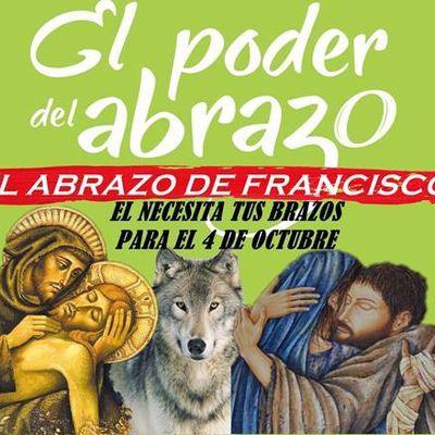 EL ABRAZO DE FRANCISCO DE ASÍS PARA EL 4 DE OCTUBRE