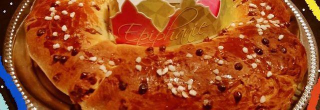 Brioche des rois aux pépites de chocolat Thermomix
