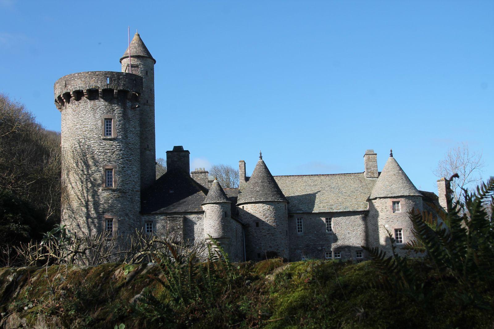 Sauté de porc à la normande - balade normande en Cotentin, le manoir Dur Ecu