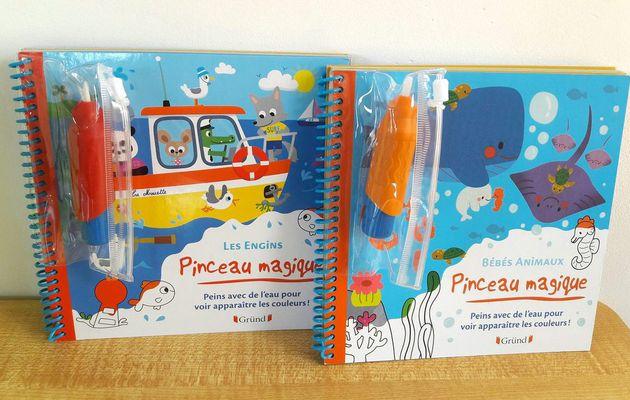 Pinceau magique - une collection de livres pour peindre avec de l'eau