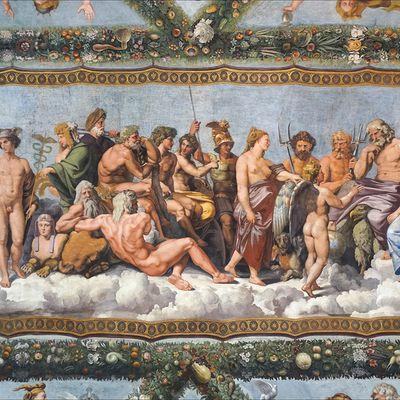 Enigmes sur les dieux de l'Olympe