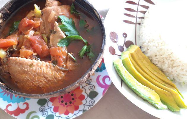Pollo guisado - ragoût de poulet à la dominicaine
