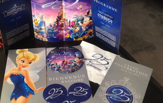 12 avril 2017 : les 25 ans de Disneyland Paris !