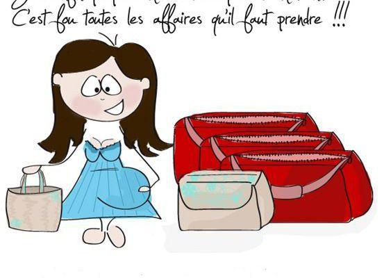 La valise de maternité - 32 sg ou 34 sa
