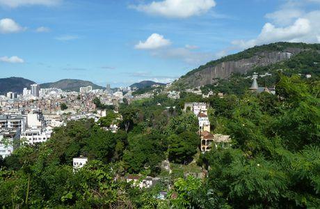 Rio de Janeiro, la colline Santa Teresa