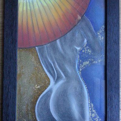 La femme parapluie