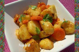 Salade de Pomme de Terre à la Marocaine