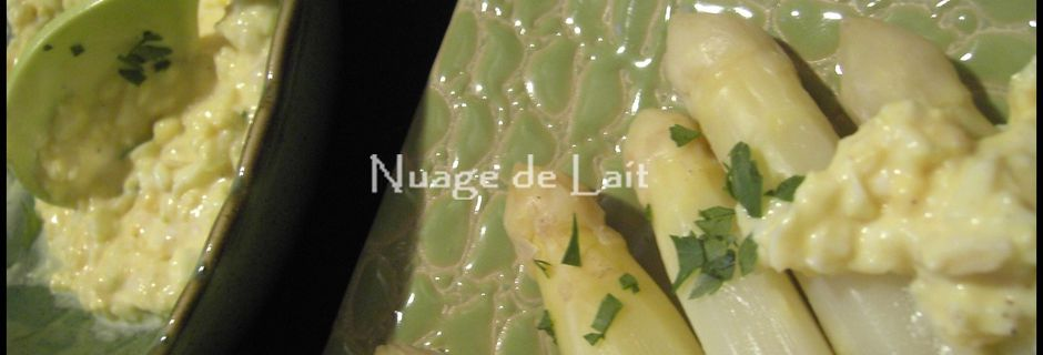 Sauce Mimosa, une idée pour accompagner les Asperges