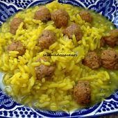 Boulettes de viande au riz - Le Sésame Des Saveurs