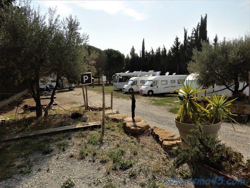 Trèbes, canal du midi en camping-car