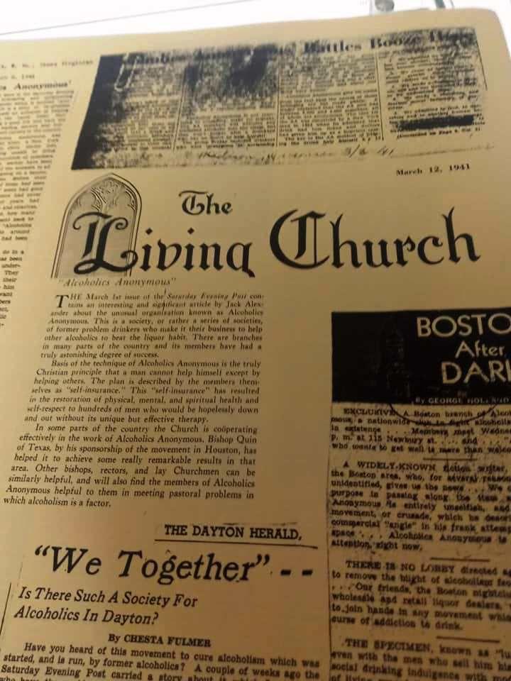 """""""The Dayton Herald"""", 12 Mars 1941"""