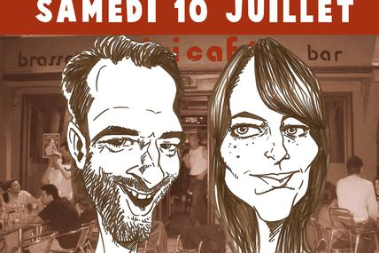 Animation de caricatures au DIXI