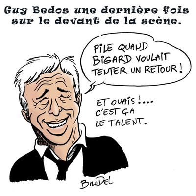 Hommage à Guy Bedos
