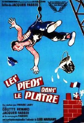 Les Pieds dans le plâtre par Jacques Fabbri et Pierre Lary
