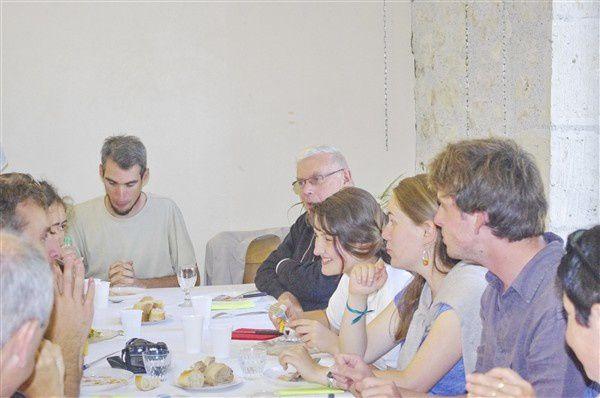 Envoi des Nouvelles Déléguées Pastorales par Monseigneur HERBRETEAU,lors de laMesse de clôture de la Mission St Gabriel, en l'Eglise de St Martin de FOULAYRONNE le Dimanche 24 Août 2014.