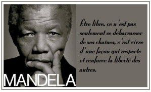 La liberté avec René Char et Mandela, ça vous dit quelque chose ?