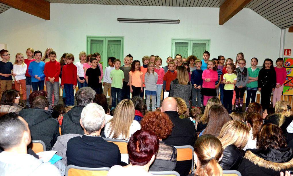 Toute l'école a chanté