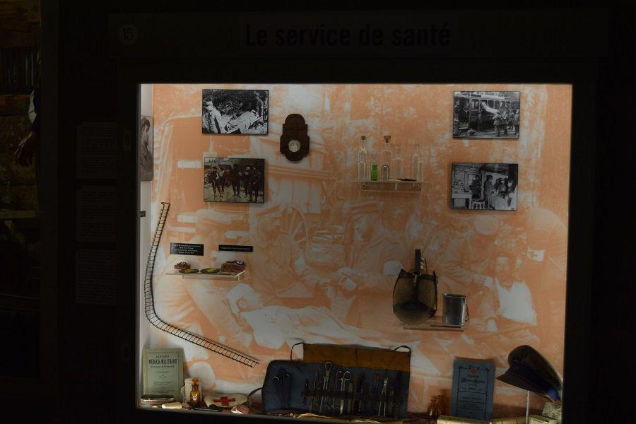MUSEE MEMORIAL du COL du LINGE