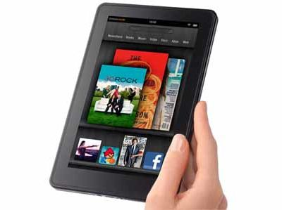 Aux Etats Unis, les ventes de tablettes Amazon Kindle Fire explosent