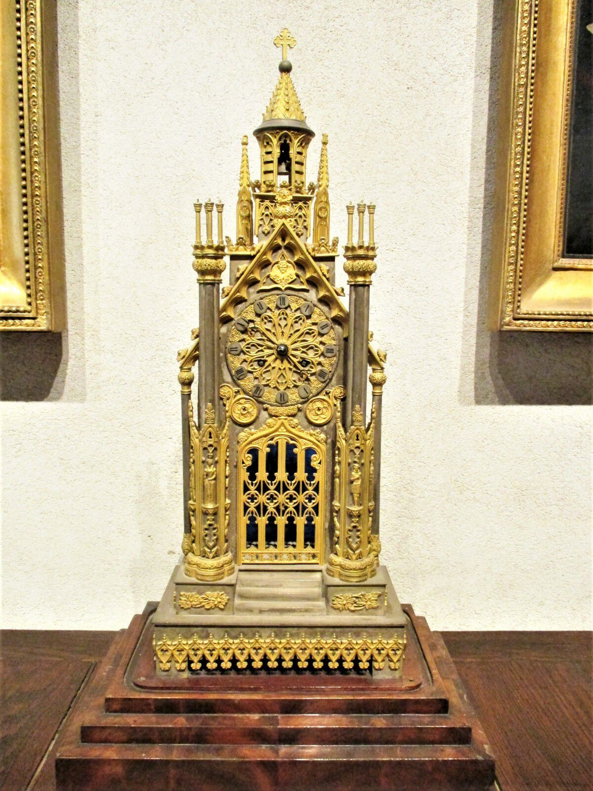 """Pendule """"A la cathédrale"""" - Honoré Pons, 1833"""