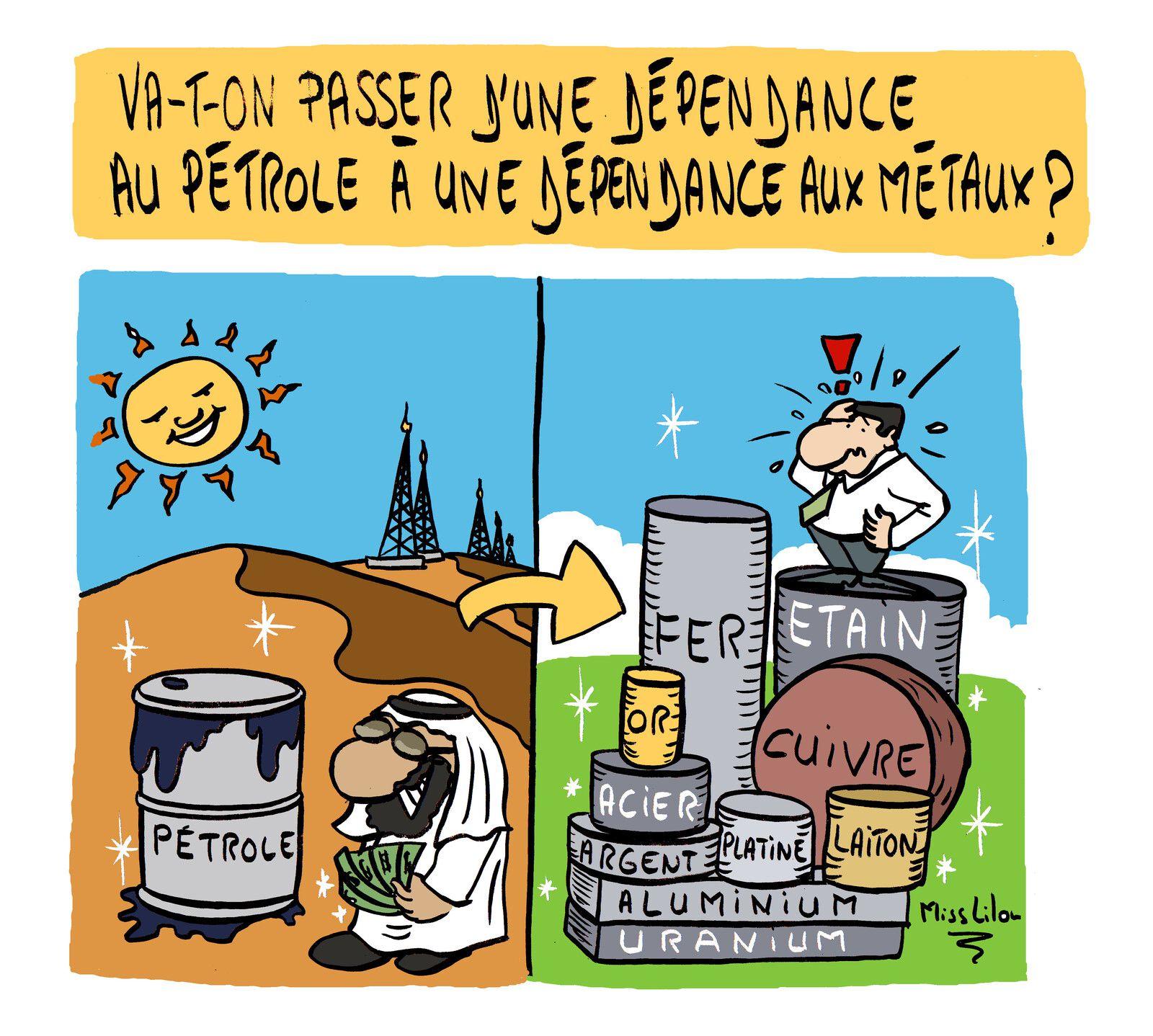 """Transition énergétique: """"Va-t-on passer d'une dépendance au pétrole à une dépendance aux métaux ?"""""""
